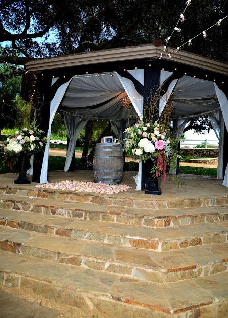 Gazebo Draping By An All Inclusive Event Find This Pin And More On California Wedding Venues