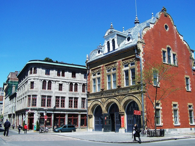 D'Youville Fire Hall, Montreal, Quebec.