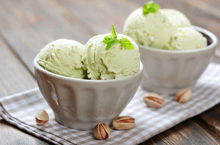 Easy to follow recipe for Pistachio Ice Cream  http://icecream.recipes/homemade/pistachio-ice-cream-recipe/