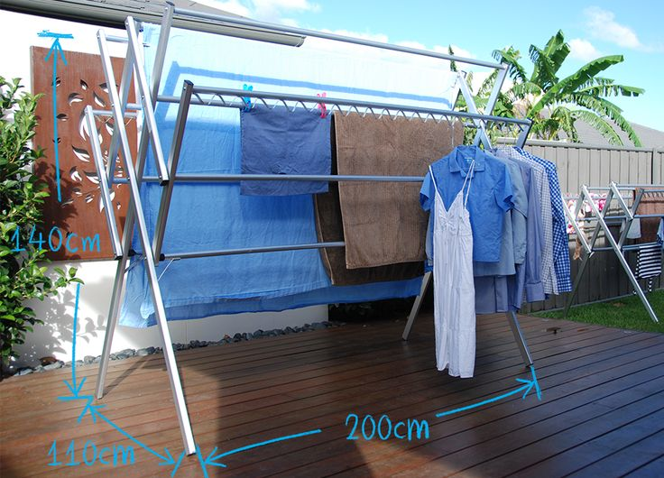 Portable, Lightweight Washing Line Laundry Solution.
