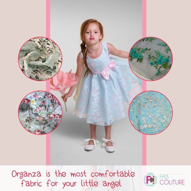 #Organzais the most #comfortable fabric for your little angel.   Grab your fabric at: https://fabcouture.in/ . #FabCouture! #DesignerFabric at #AffordablePrices  #DesignerDresses #Fabric #Fashion #DesignerWear #ModernWomen #DesiLook #Embroidered #WeddingFashion #EthnicAttire #WesternLook #affordablefashion #GreatDesignsStartwithGreatFabrics #LightnBrightColors #StandApartfromtheCrowd #EmbroideredFabrics
