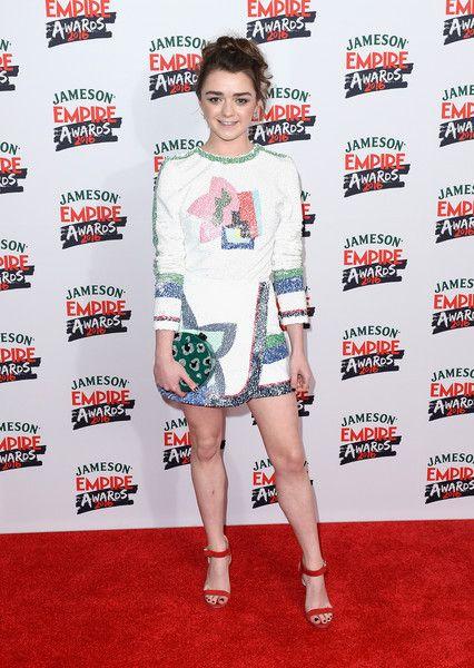 Maisie Williams in Sadie Williams at Jameson Empire Awards 2016