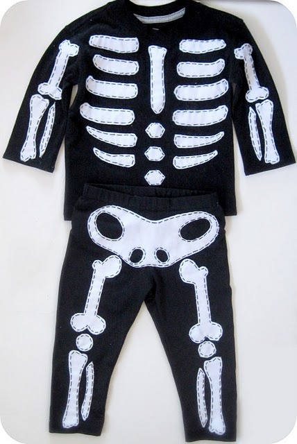 Skeleton Costume - DIY Halloween Costume | Craft Passion