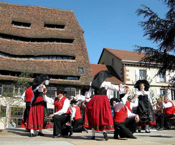 Festivités locales à Wissembourg.
