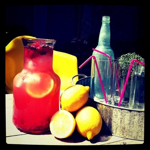 Lavender, Honey and Raspberry Lemonade | Scrumptious Food & Drinks ...