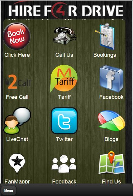 Book Chauffeurs online Using our Android Mobile App.