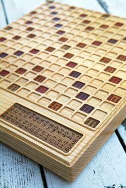 Custom Made Scrabble Board(Ash)