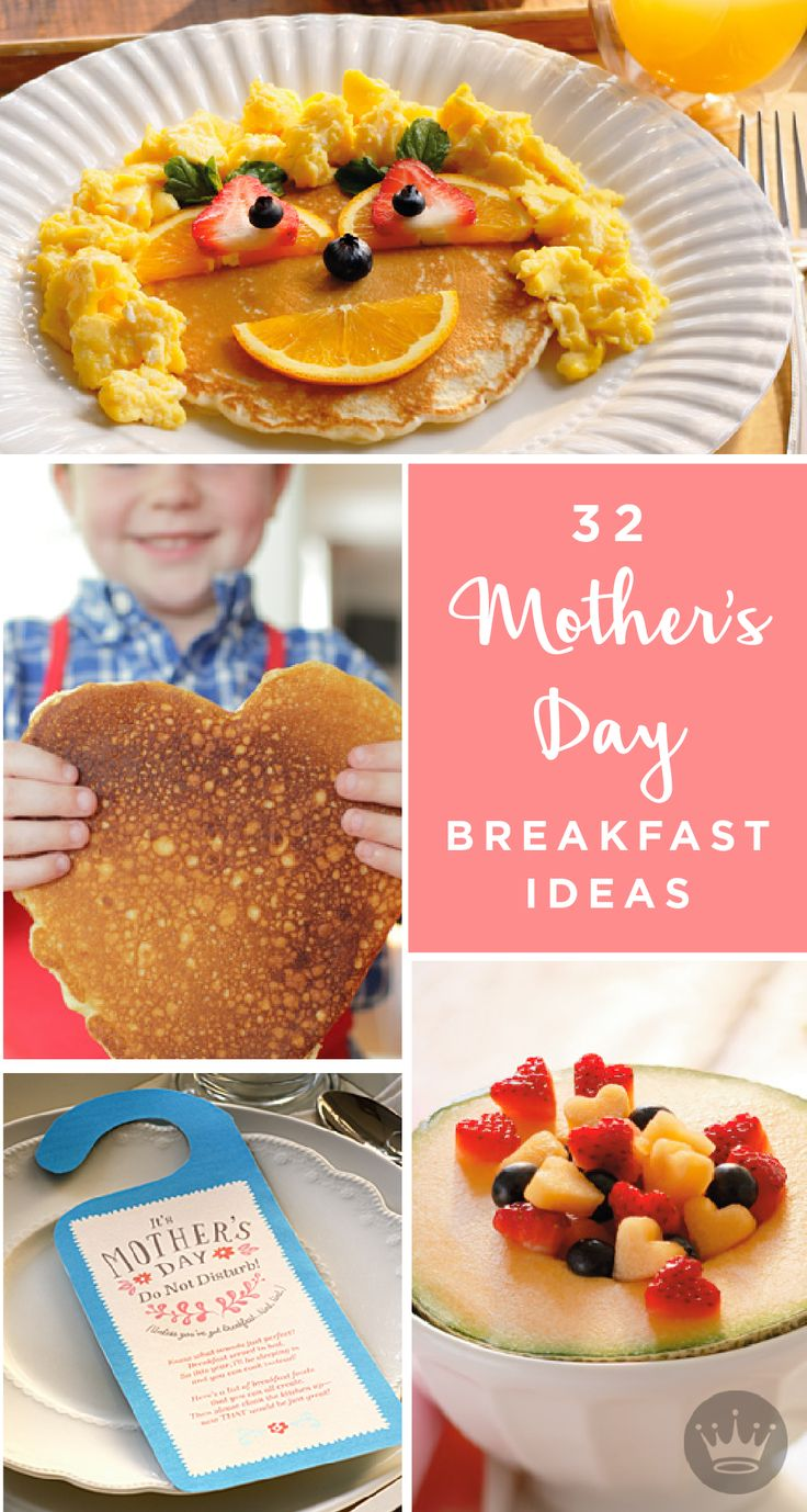 22 best celebrate mom with b c images on pinterest for Easy breakfast in bed ideas