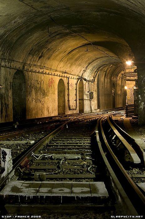 Abandoned Saint Martin Station, Paris