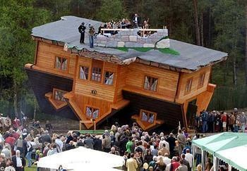 Upside Down House | Friggin Random - Come check out some funny pics