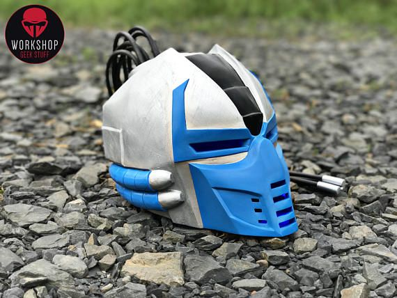 Hey, I found this really awesome Etsy listing at https://www.etsy.com/listing/538420227/cyber-sub-zero-helmet-from-the-game