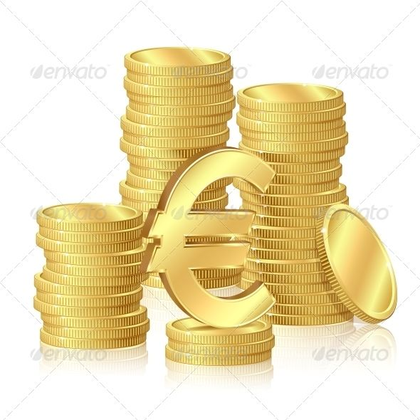 Stacks of Gold Coins  #GraphicRiver         Stacks of gold coins and euro signs     Created: 23June13 GraphicsFilesIncluded: JPGImage #VectorEPS Layered: No MinimumAdobeCSVersion: CS Tags: 3d #background #bank #business #cash #coin #concept #currency #earning #economy #finance #golden #heap #illustration #investment #money #pay #reflection #rich #richness #savings #shiny #sign #stock #success #symbol #three-dimensional #treasure #wealth #yellow