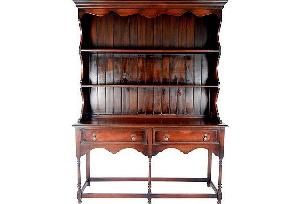Antique Welsh Dresser by the Lenox Furniture Shops, Lenox, N.Y. on OneKingsLane.com