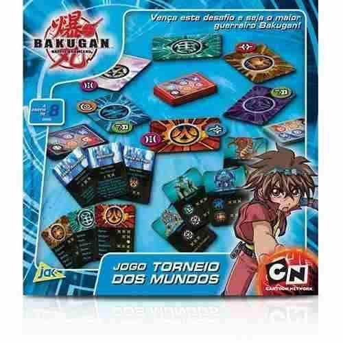 Bakugan Torneio Dos Mundos - Toyster - Cartoon Network - R$ 50,00