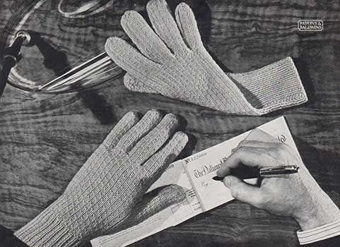 textured rib gloves for men
