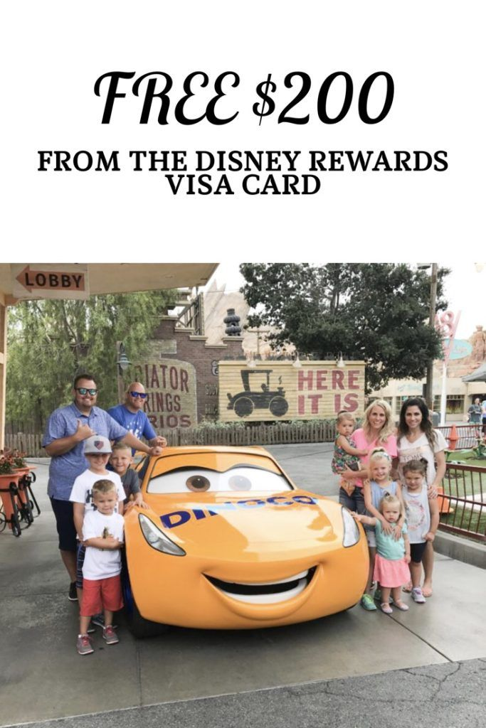 Apply for this Disney Rewards Visa Card through our link and earn a $200 statement credit! You can't beat FREE MONEY!!