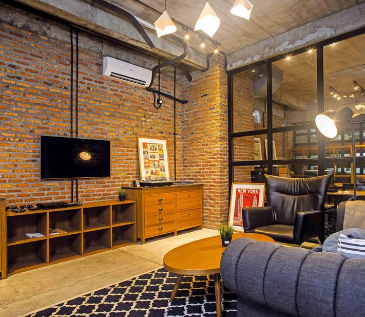 Interior Conclave Coworking Space. It is undeniable that in the end the comfort and uniqueness of interior design who became one of the factors of success