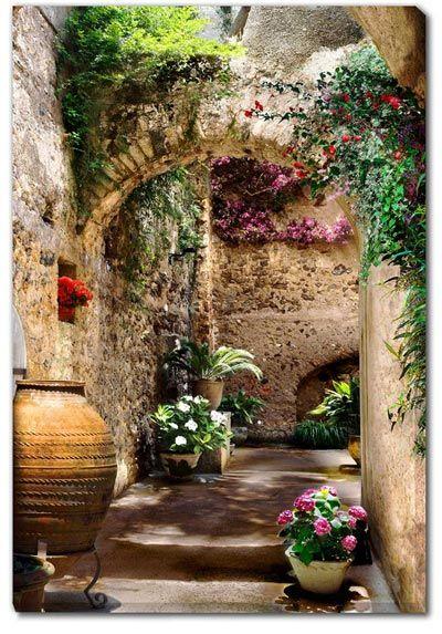Aragonese Arches Ischia Naples Campania