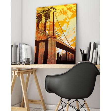 Retro NYC New York City Canvas Art
