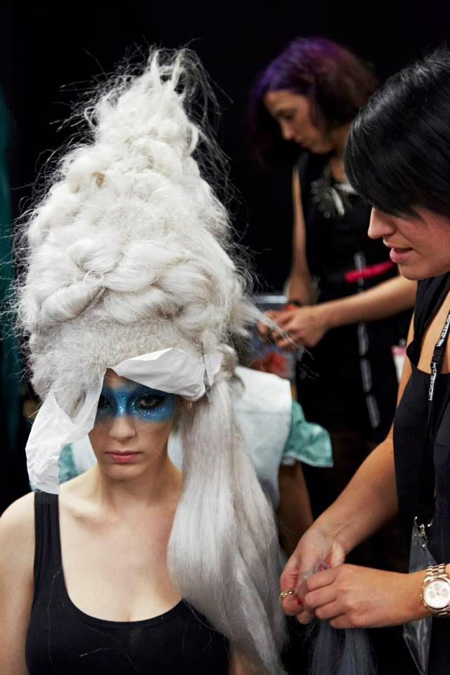 Behind the scenes of L'Oreal Professionnel Australia Hair Expo 2013