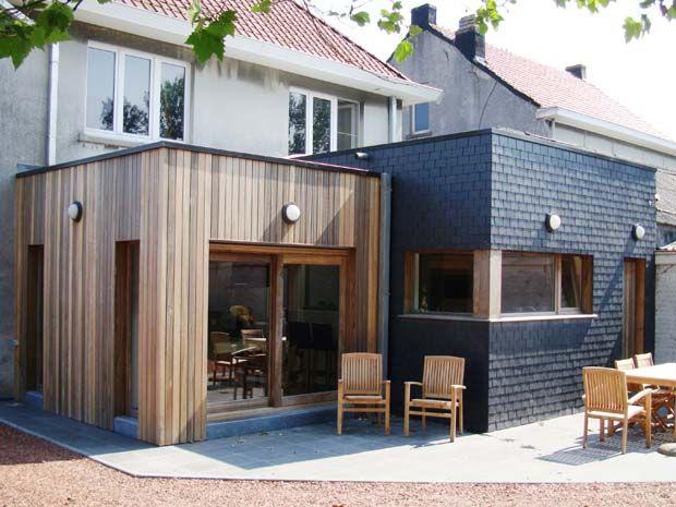 25 beste idee n over buitenkant huis renovaties op pinterest huis exterieurs huis exterieur - Buitenkant terras design ...