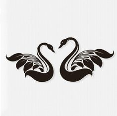 swan tattoos for women - Google Search