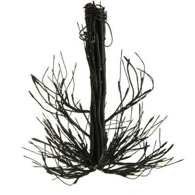 raz lighted chandelier halloween decoration black made of iron wire measures 145 x 14 - Raz Halloween Decorations