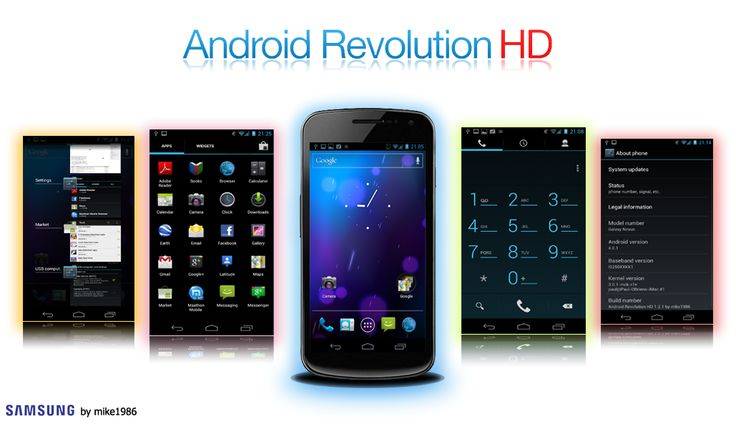 How to Install Android Revolution HD 11.0 ROM on Galaxy Nexus I9250 Jelly Bean Custom ROM