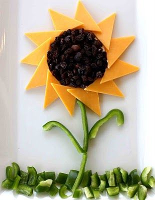 Healthy  Adorable  Sunflower Snack