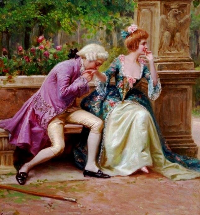 Ferranti, Carlo (b,1840)- Amorous Advance -2d