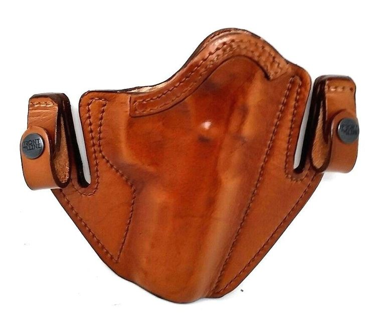 Front Line Fits CZ 75 SP01 9MM .40 SP-01 brown IWB RIGHT HAND RH LEATHER HOLSTER