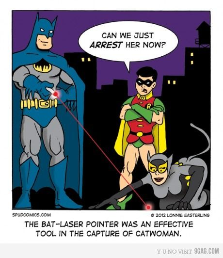 How to catch the CatWoman! #batman #humor