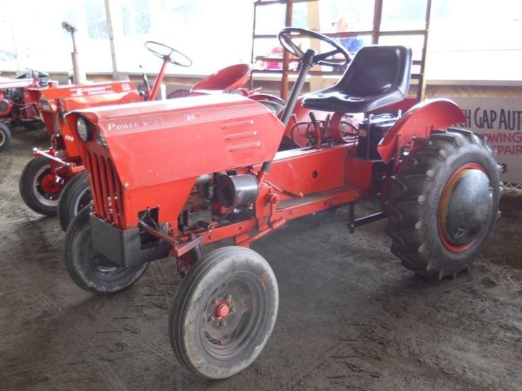 Power King small tractor.