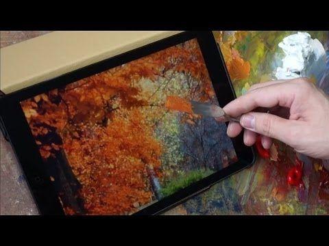 ▶ Технические советы. Подбор цвета. Олег Буйко. Oil Painting Tutorial. - YouTube