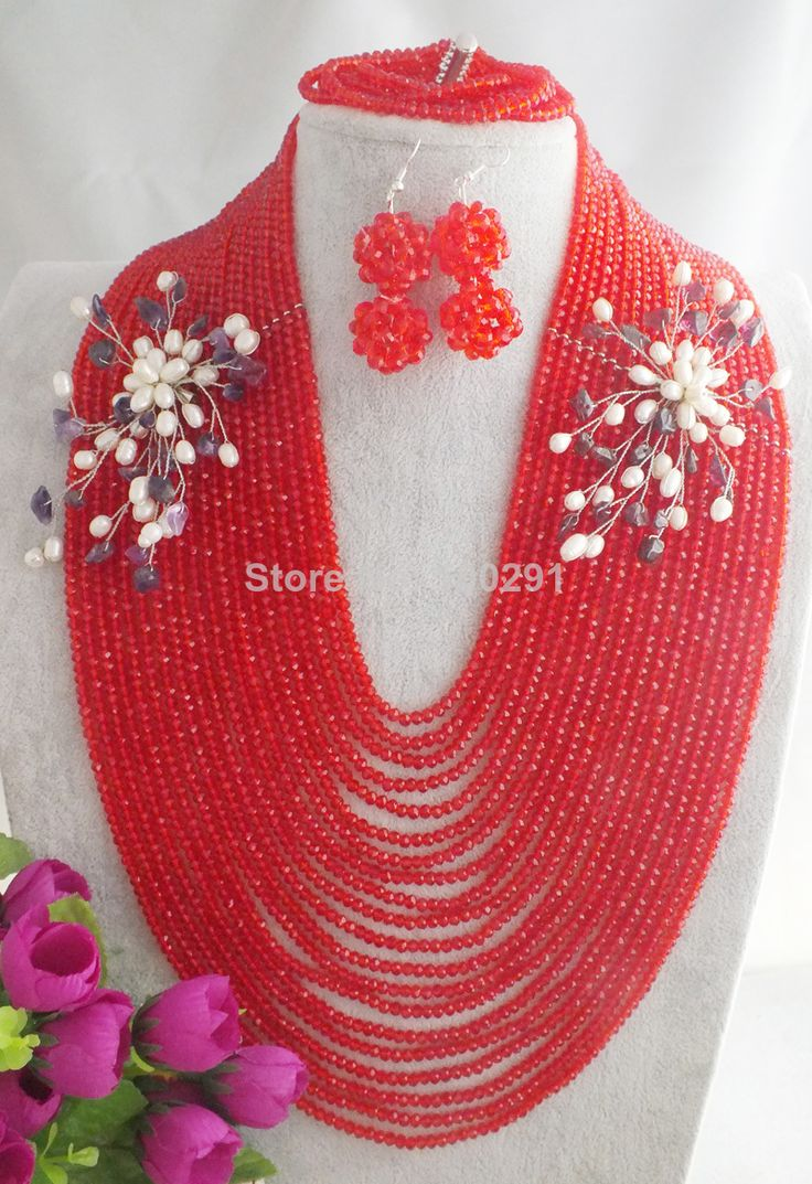 270 Best Nigeria Beaded Necklaces Images On Pinterest