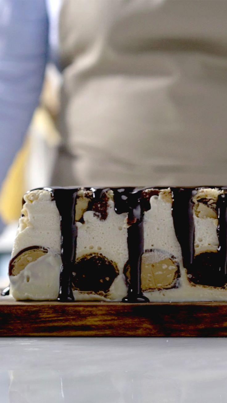 Que tal preparar uma torta gelada de bombom deliciosa e cheia de sabores?