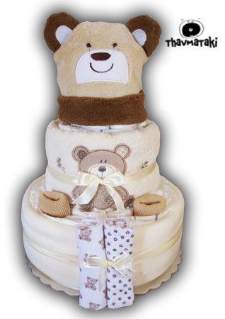 http://thavmataki.gr/eshop/diaper-cakes/baby-bear-diaper-cake.html Νέο υπέροχο χουχουλιάρικο thavmataki! Με ζεστά και πανέμορφα περιεχόμενα. Τιμή 40€ Κλικ στο e-shop για όλες τις λεπτομέρειες!