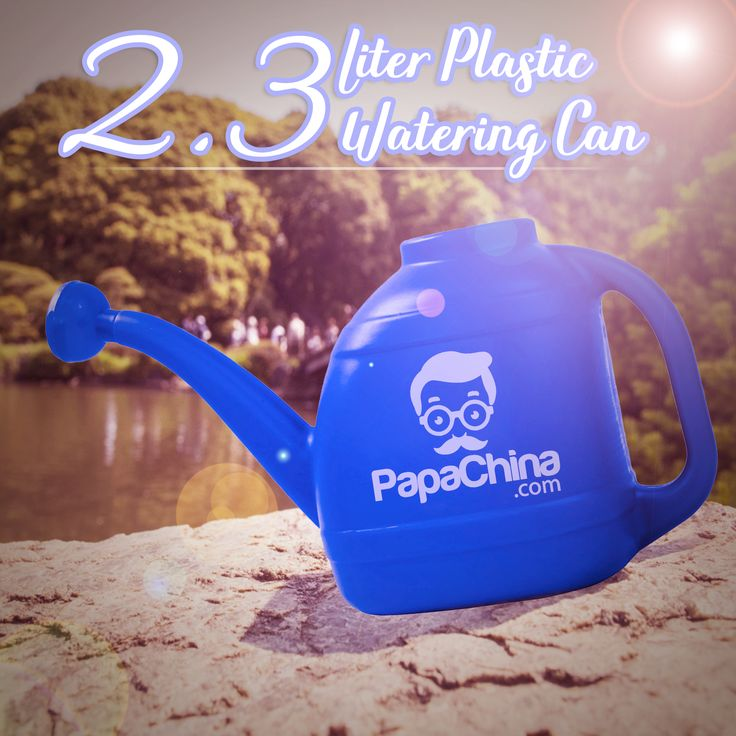 The 2.3 Liter Plastic Watering Can keeps a favorable image of your company with the customer. With features like built-in can rose, 2.3 liter capacity, comfortable handle, tough durable and used for pouring plants, customers will love it and remember your company.