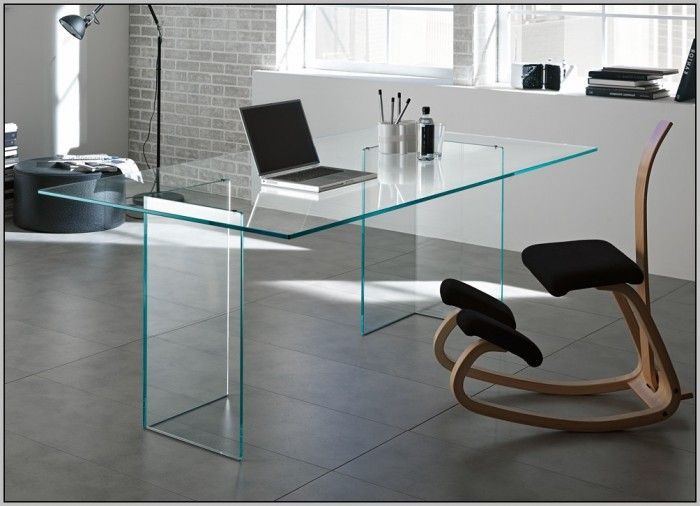 Fine Glass Top Office Desks Home Desk Espresso By Rta Products