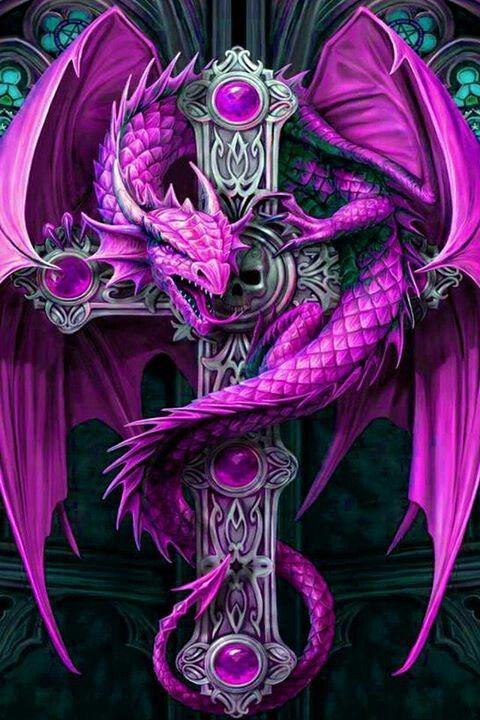 When I was looking at her, one thing stuck out. The handle of her sword was decorated with purple. It didn't match anything else, otherwise she wore forest green and brown, she had a small dragon resting on the hilt of the sword, it was the size of guinea pig with a long tail. It didn't matter if it got nasty I would win in a fight. ( I understand this is a cross but that's what I thought of first)