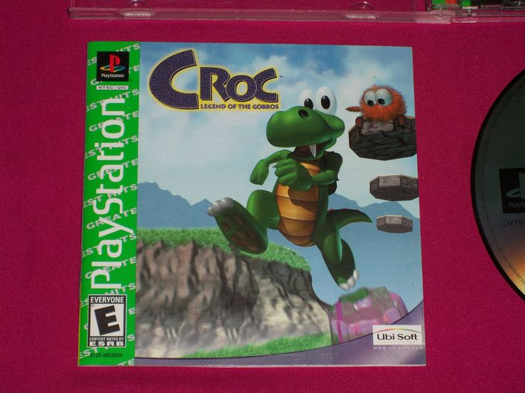 Croc Legend of the Gobbos - PS1 Game - Sony PlayStation 1 - 1998, COMPLETE | eBay