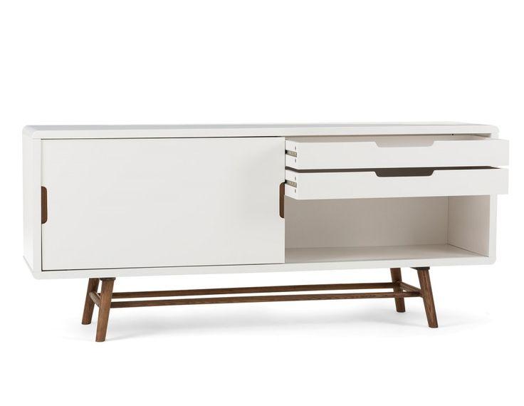 OCEAN - 2-door sideboard - White