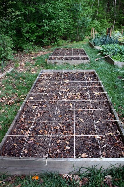 17 best images about ft2 square foot gardening on for Four foot garden blueprint