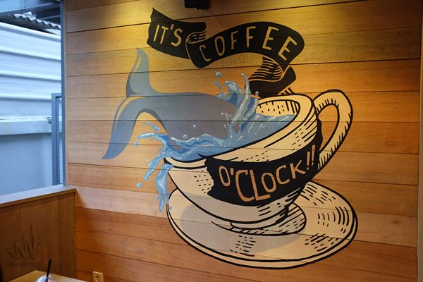 Two Cents Coffee (2nd Mural) on Behance