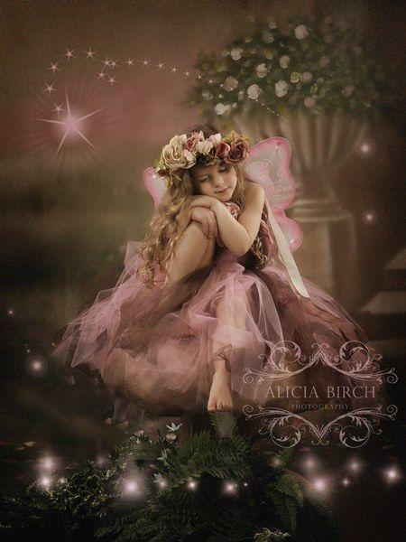 Enchanted Garden Fairy Portraits by Alicia Birch ...