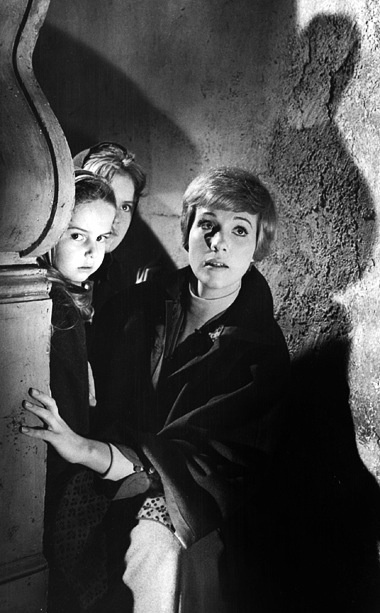 """Hiding from the Nazis. From the movie, """"The Sound of Music,"""" starring Julie Andrews."""
