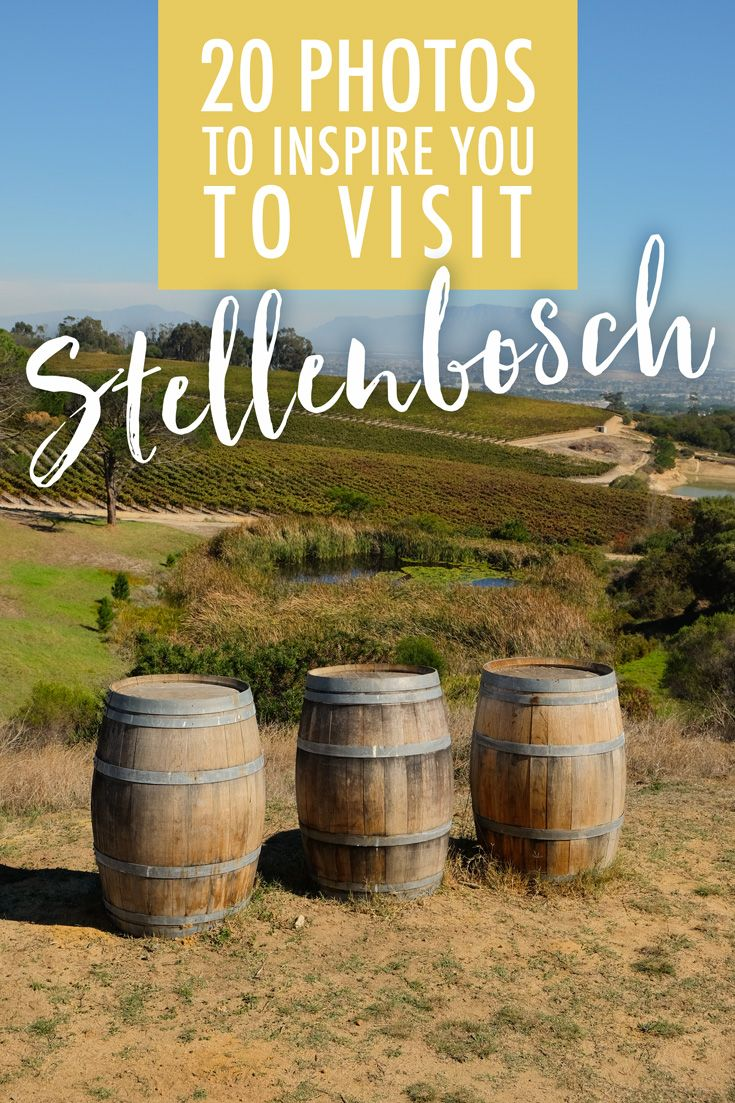 20 photos to inspire you to visit stellenbosch
