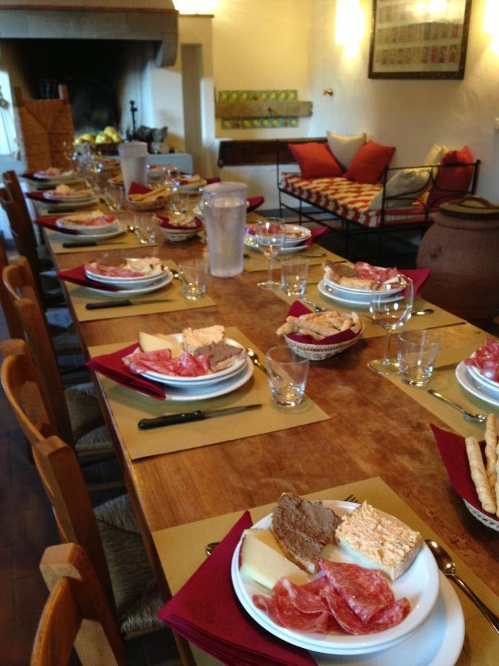 tuscany dinner at IL PEZZATINO  www.ilpezzatino.it