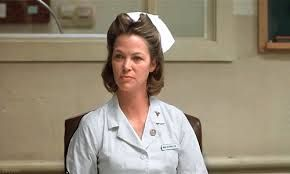 Louise Fletcher played the sadistic nurse Nurse Ratchet in One Flew Over the Cuckoo's Nest.