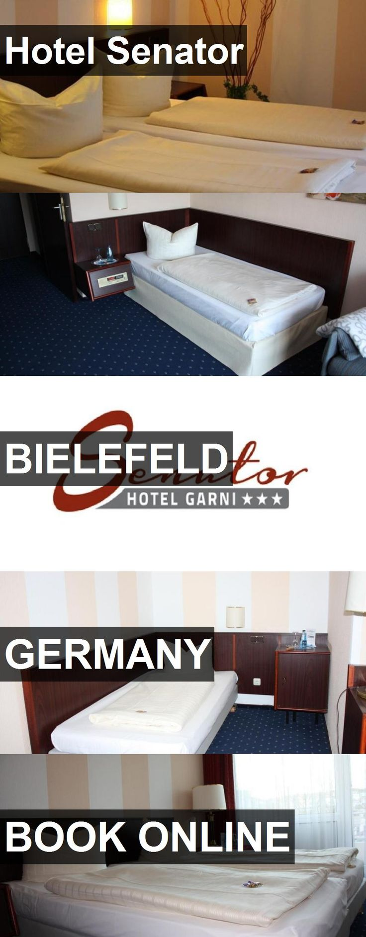 Hotel Senator in Bielefeld, Germany. For more information, photos, reviews and best prices please follow the link. #Germany #Bielefeld #travel #vacation #hotel